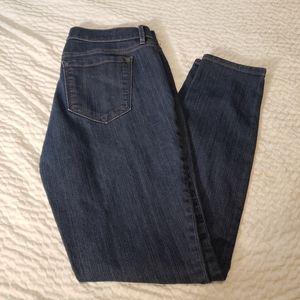 Loft size 8 modern skinny jeans